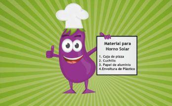 horno con energía solar