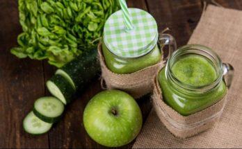 jugo verde saludable